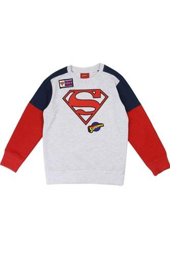 Boys superman 4-7 sweatshirt
