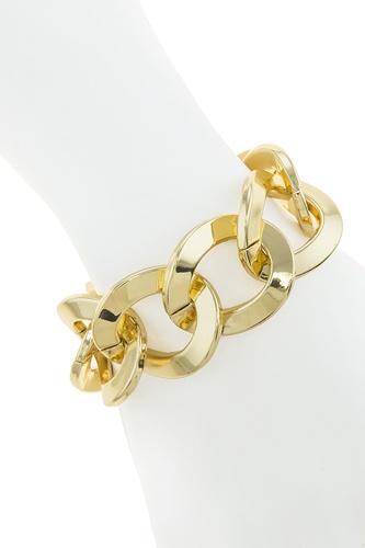 Chunky link chain bracelet