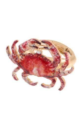 Crab stretch ring