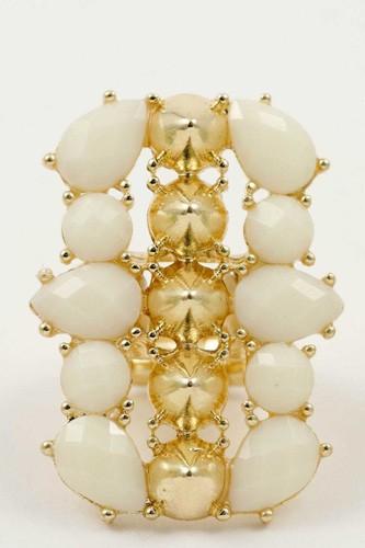 Long jewel ring
