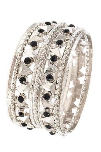 Triangle Sation Multi Bangle Bracelet