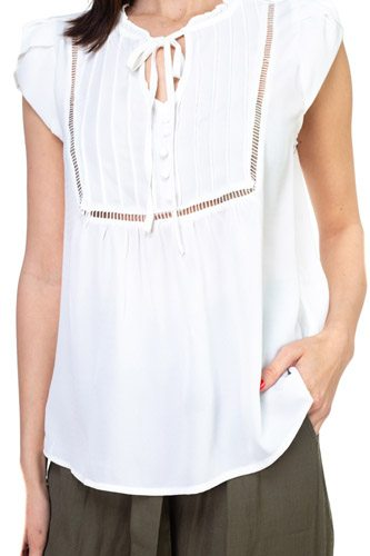 Solid Short Tulip Sleeve Shirts