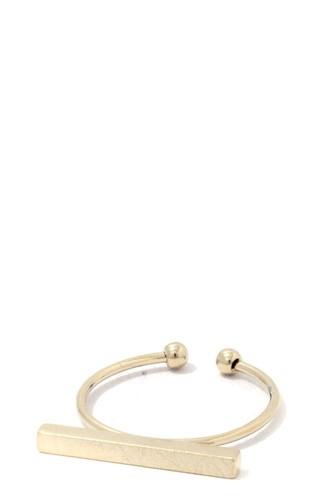 Metal Bar Ring
