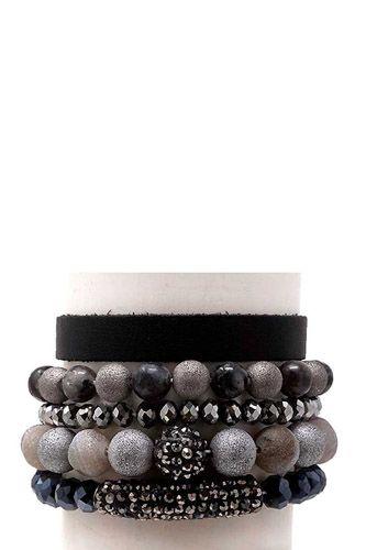 Semi Precious Stone Bracelet Set
