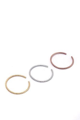 Metal Bead Open Ring