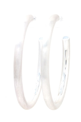 Metal Open Hoop Earring