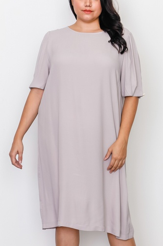 Plus Size Contemporary Midi Dress