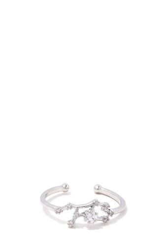 Virgo Constellation Star Ring