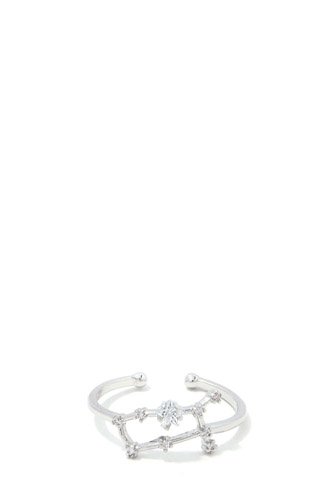 Gemini Constellation Star Ring