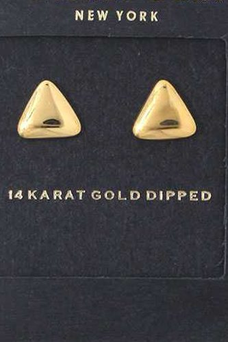 Triangular Shape Stud Earring