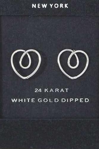 Heart Shape Stud Earring
