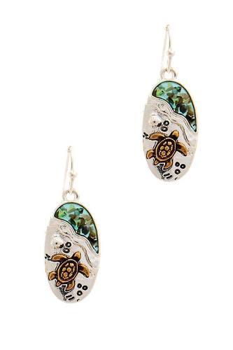 Cute Fashion Sea Turtle Drop Earring