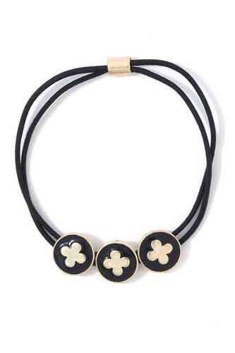 Moroccan Shape Circle Suede Bracelet