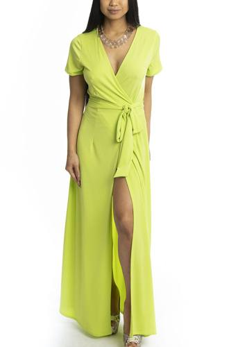 Floor Length Wrap Dresses