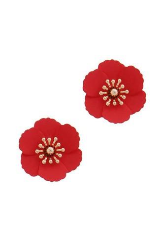 Flower Post Earring