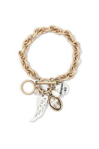 Wing Charm Bracelet