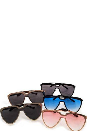 Modern Aviator Retro Pop Sunglasses