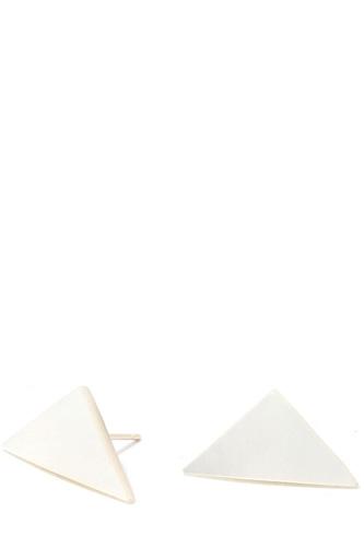 Triangular Shape Post Earring