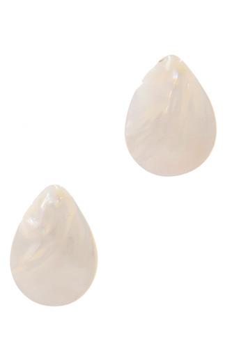 Teardrop Shape Post Earring
