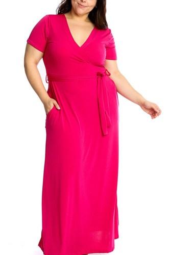 Waist Tie Breathable Summertime Maxi Dress