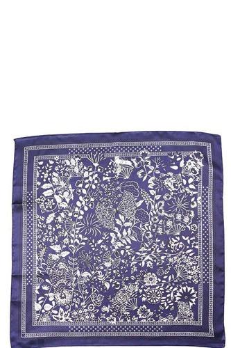 Floral Fashion Silky Bandanna