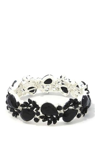 Teardrop Shape Stretch Bracelet