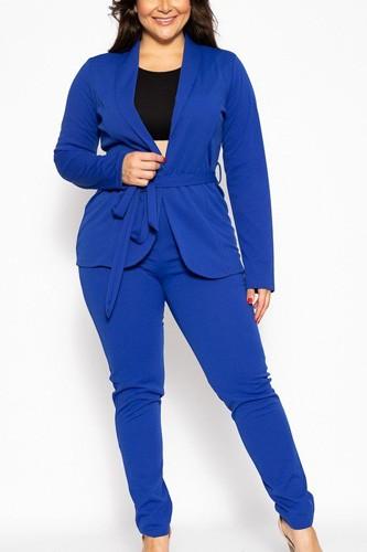 Classic Pant Suit Set