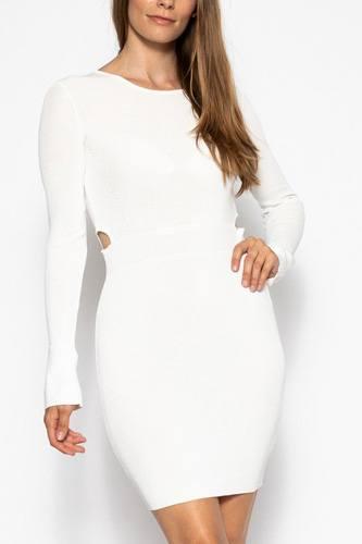 Bodycon Knit Dress Sweater Dress