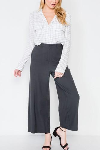 High-waist Wide Leg Pants