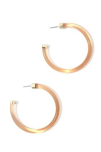 Open Hoop Earring