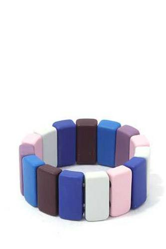 Rectangular Block Stretch Ring