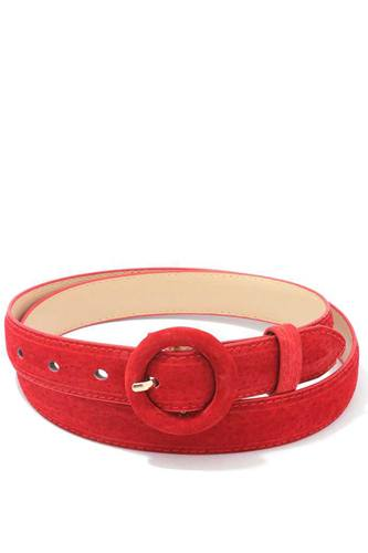 Soft Rounded Buckle Belt