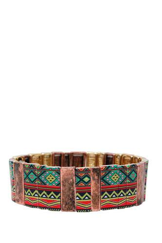 Chic Ancient Pattern Stretchable Bracelet