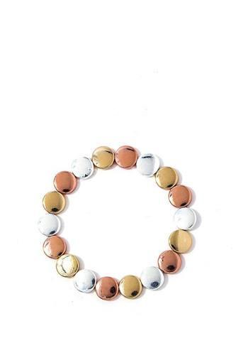 Modern Chic Beaded Bracelet