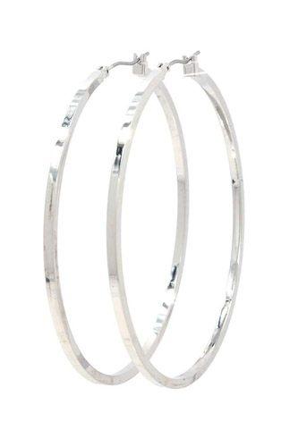 Metal Hoop Earring