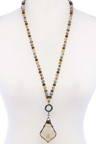 Fashion Chic Stylish Beaded Necklace