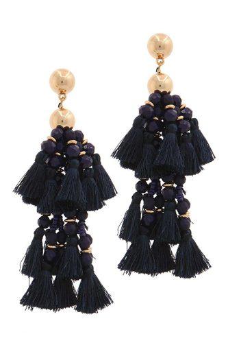 Designer Tassel Drop Earring