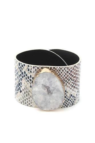 Snake Pattern Wrap Bracelet