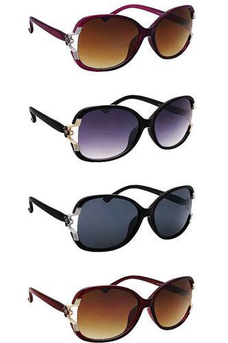 Polycarbonate Uv400 Butterfly Fashion Sunglasses