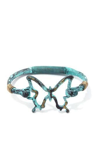 Butterfly Open Cuff Bracelet