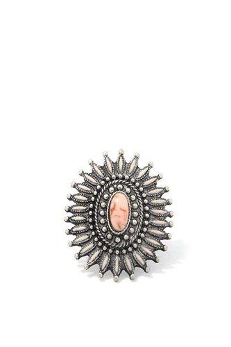 Circle Metal Cuff Ring