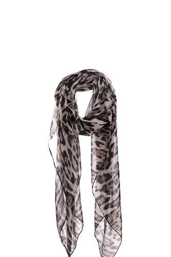 Fashion Leopard Chiffon Scarf