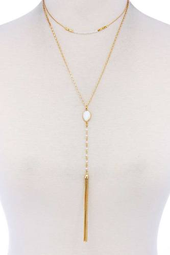 Stylish Chic Double Layer Necklace