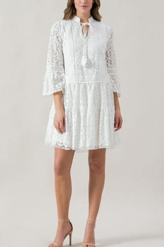 A Lace Babydoll Dress