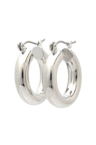 Tube Hoop Earring