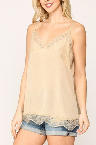Sleek Satin Cami Top