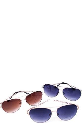 Trendy Fashion Aviator Sunglasses