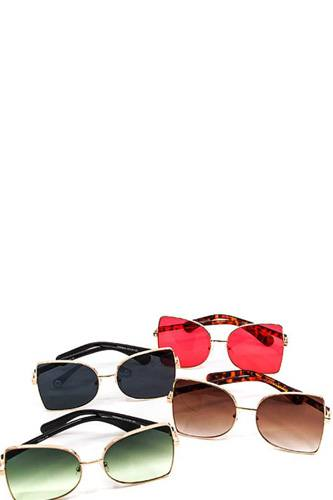 Modern Fashion Chic Colored Sunglasses