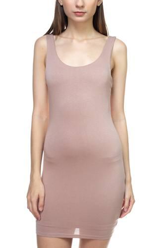Sleeveless Basic Dress