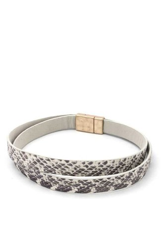 Snake Pattern Magnetic Bracelet